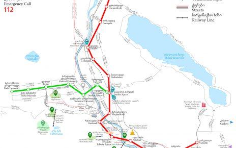 دانلود نقشه مترو تفلیس
